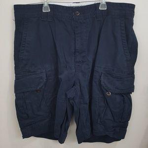 Blue polo cargo shorts size 38
